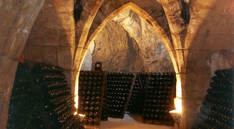 Taittinger Cellar