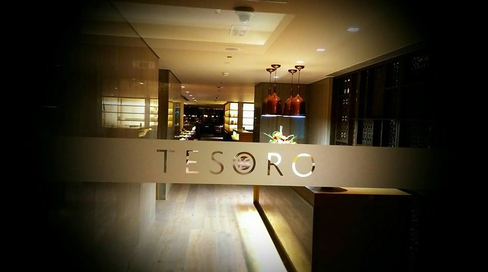 Taj Dubai -TESORO is a Spanish word, it means Treasure