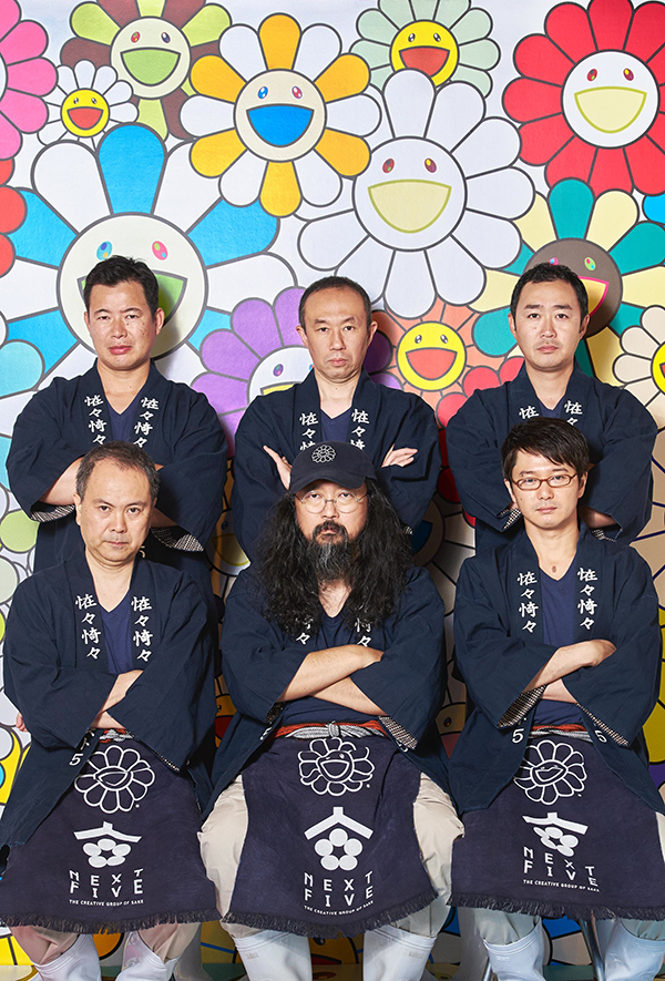 Takashi Murakami × NEXT5 is a brewing collaboration between famed artsit Takashi