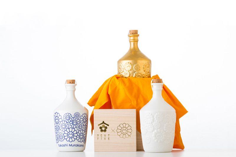 Takashi Murakami × NEXT5  sake bottles 2016-2luxury3