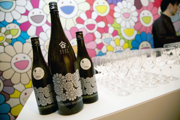 Takashi Murakami × NEXT5  sake bottles 2016 - launching