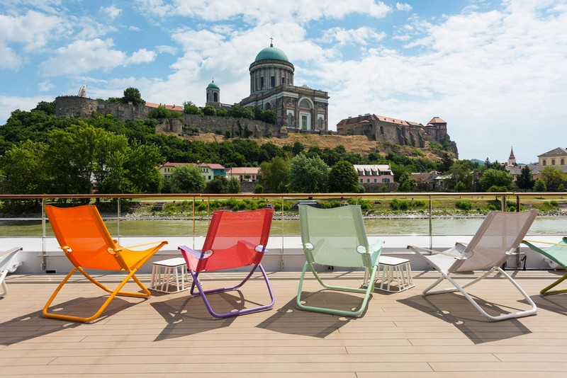 Take in the sights while basking in the sunshine when you travel on Crystal Mozart