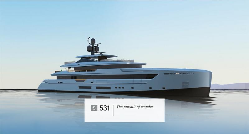 Tankoa Yachts S531 yacht - 2015 renderings