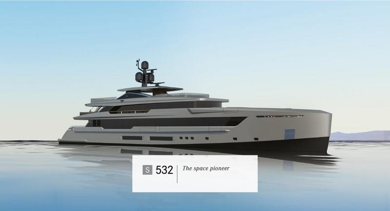 Tankoa Yachts S532 yacht - 2015 renderings