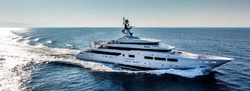 Tankoa Yachts on sea