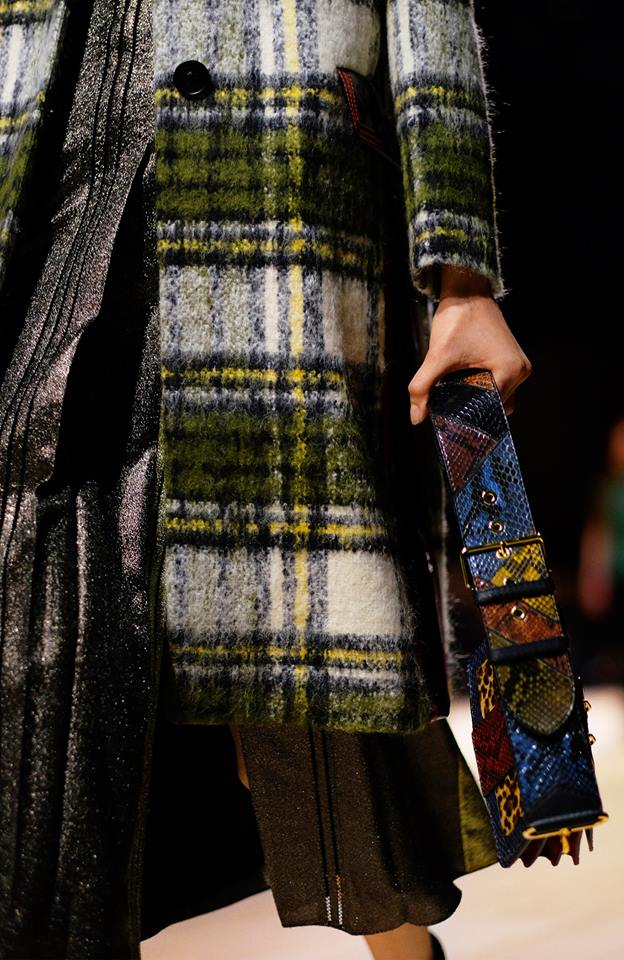 Tartan, lightweight lamé and The Patchwork take to the Burberry runway