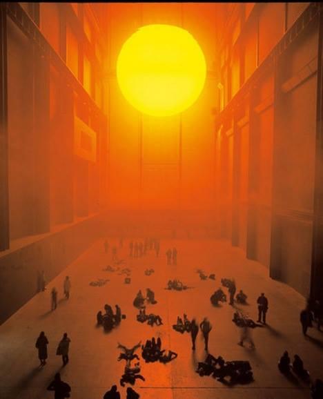Tate Modern Olafur Eliasson installation