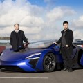 Techrules AT96 TREV supercar concept - William Jin (L) and Matthew Jin (R)
