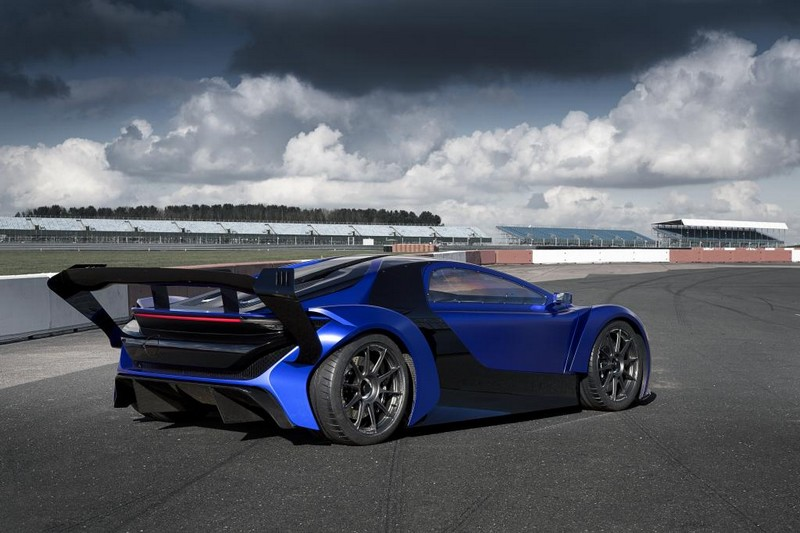 Techrules AT96 TREV supercar concept on track