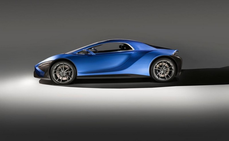 Techrules AT96 TREV supercar concept studio - lateral