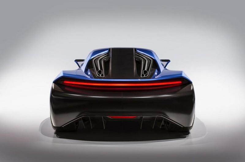 Techrules AT96 TREV supercar concept studio rear