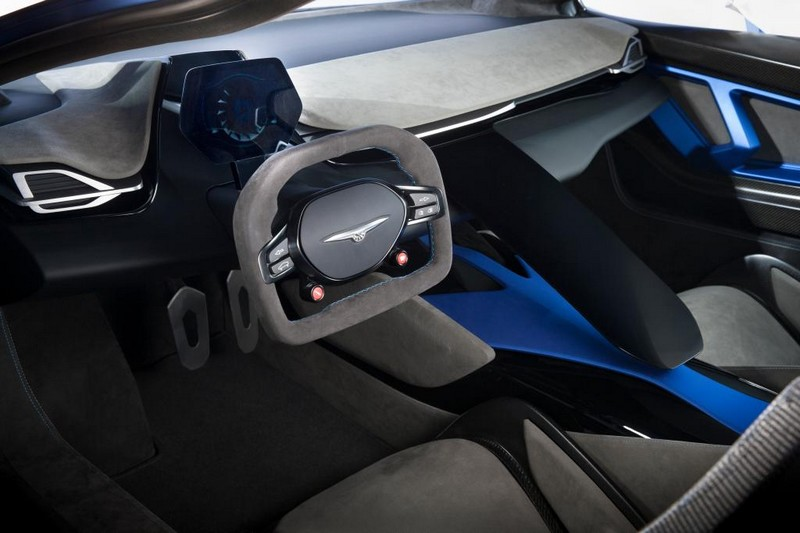 Techrules AT96 TREV supercar concept studio
