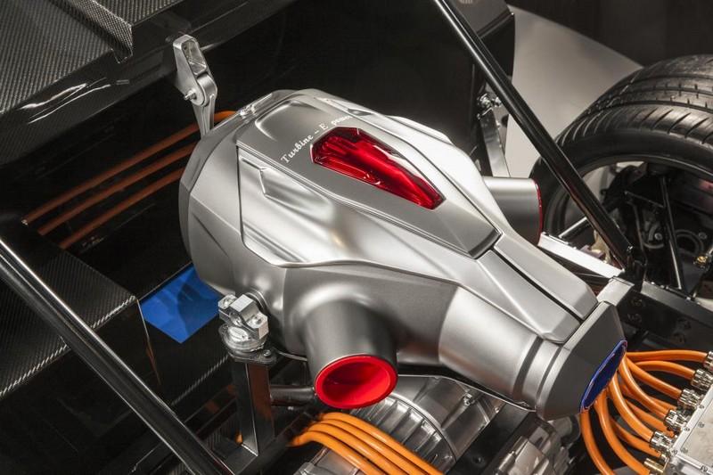 Techrules AT96 TREV supercar concept - turbine generator