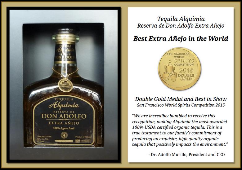 Tequila Alquimia Extra Añejo