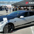 Tesla Model S Electric Car Showcase at LA Auto Show-2014