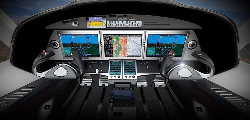 Textron Aviation debuts Cessna Denali single engine turboprop at Oshkosh-cockpit