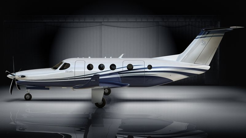 Textron Aviation debuts Cessna Denali single engine turboprop at Oshkosh-hangar