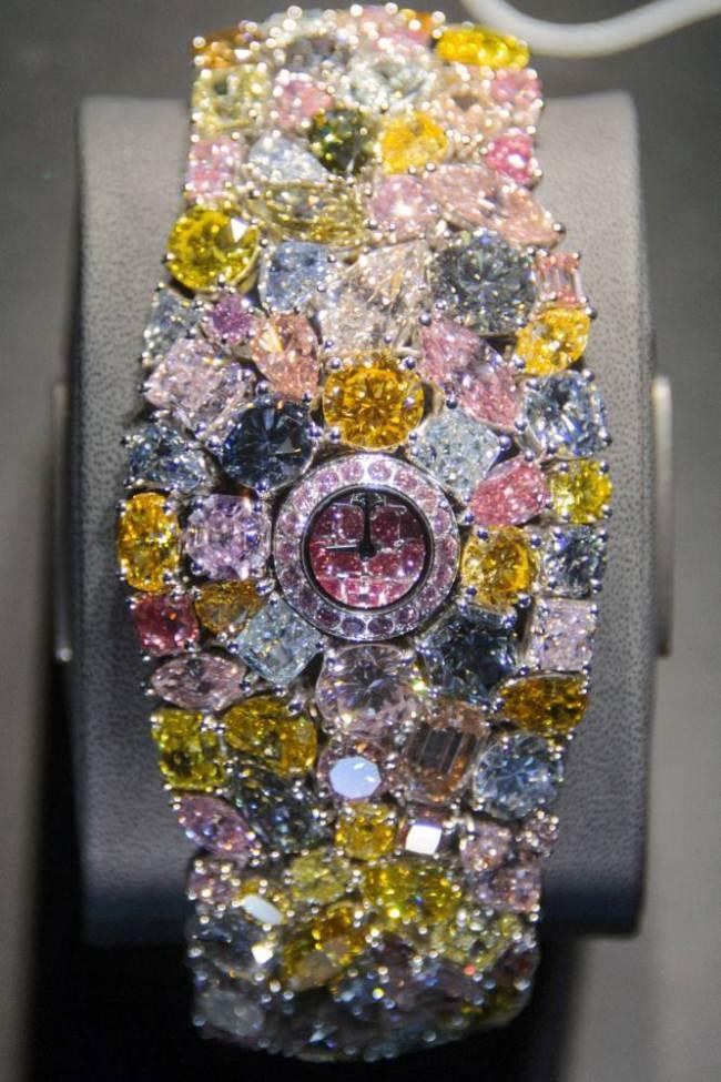 graff diamonds 55 million dollar hallucination watch