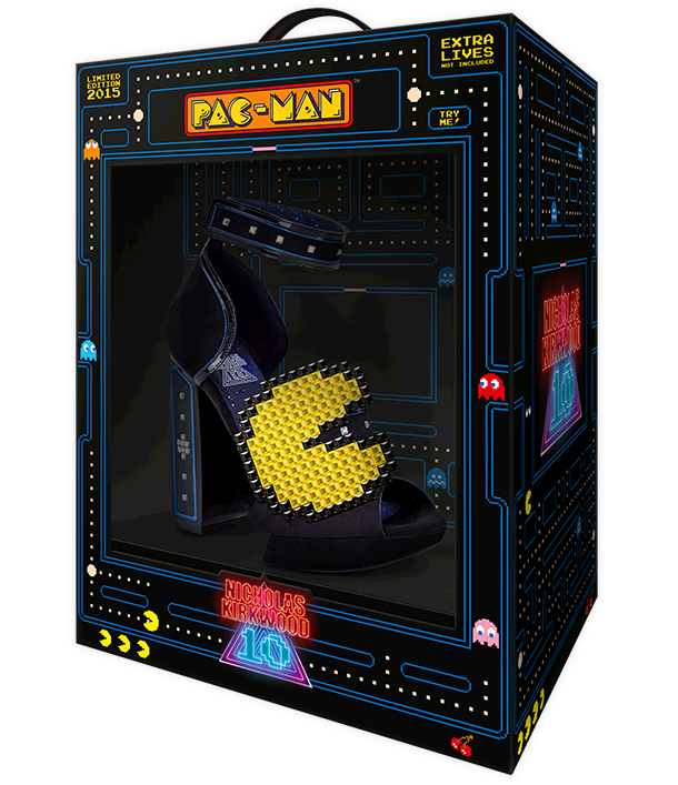 The ‪NicholasKirkwood‬ 10 Year Number Edition Anniversary Collection - Pac-Man shoes