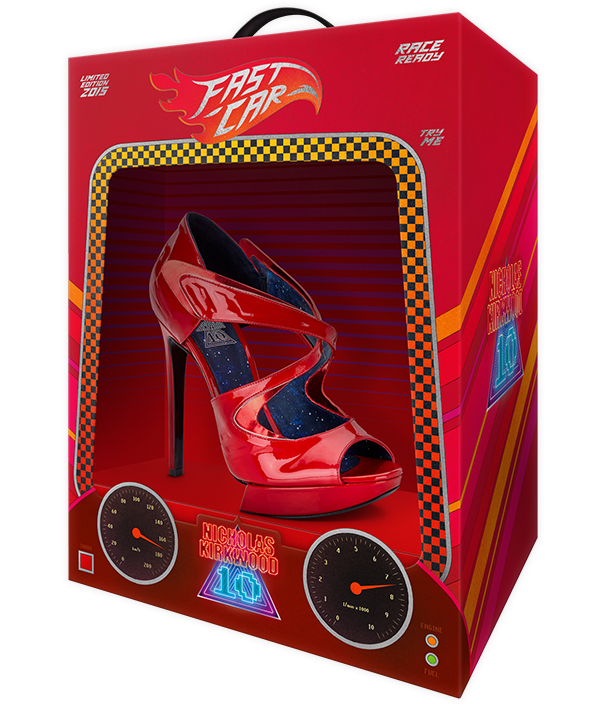 The NicholasKirkwood 10 Year Number Edition Anniversary Collection - The Fast Car shoes
