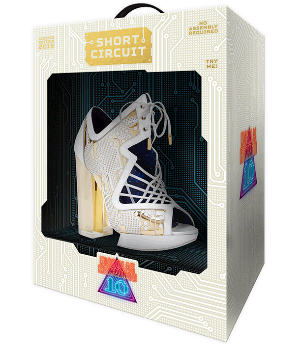 The NicholasKirkwood 10 Year Number Edition Anniversary Collection - The Short Circuit  shoes