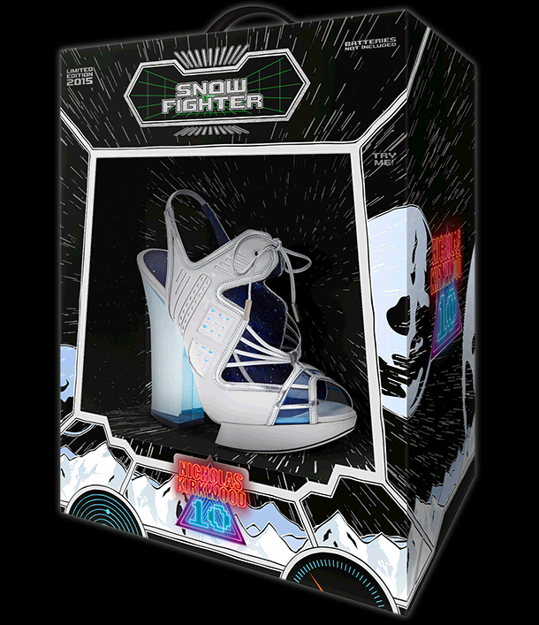 The NicholasKirkwood 10 Year Number Edition Anniversary Collection - The Snow Fighter shoes