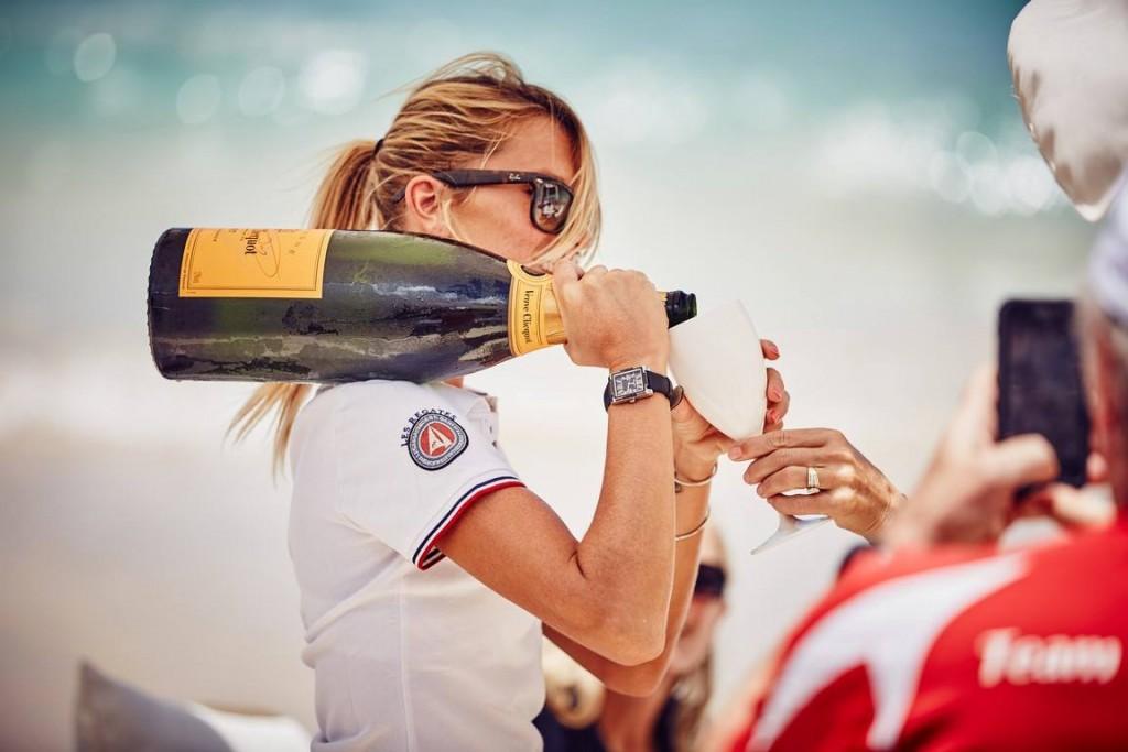 The 2015 ClubSwan season-champagne