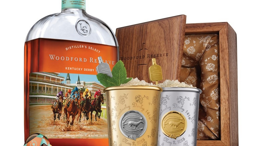 The 2015 edition of Woodford Reserve's $1,000 Mint Julep Cup for the
