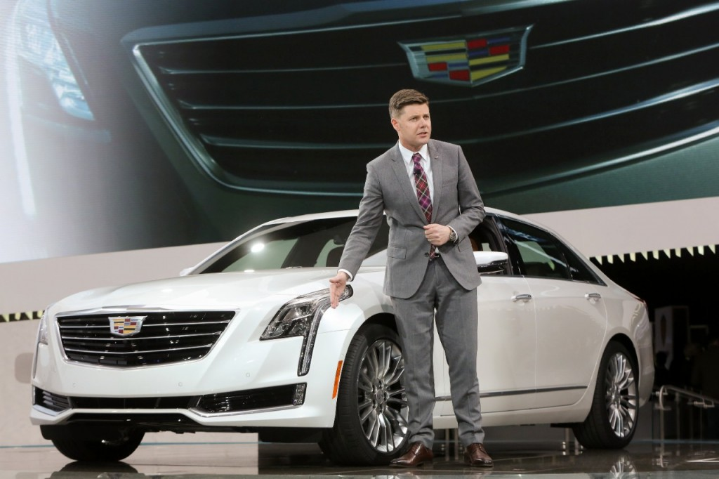 The 2016 Cadillac CT6 Introduced At New York International Auto Show-