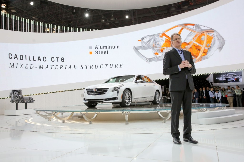 The 2016 Cadillac CT6 Introduced At New York International Auto Show