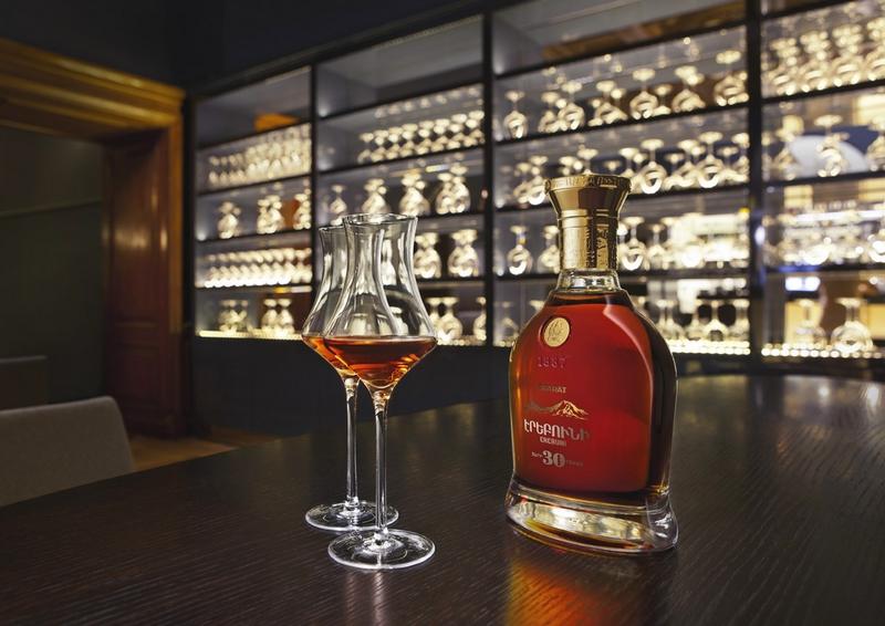 The 30-year-old ArArAt Erebuni brandy-
