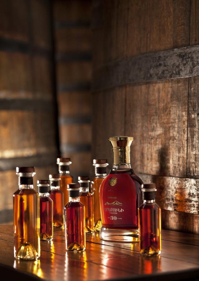 The 30-year-old ArArAt Erebuni brandy--