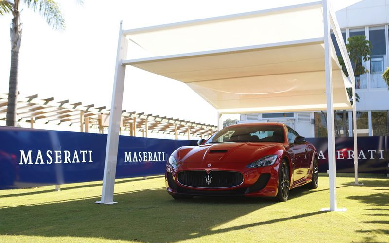 The 5th round of the Maserati Polo Tour 2016 opend with the first Maserati Store in Spain--2016