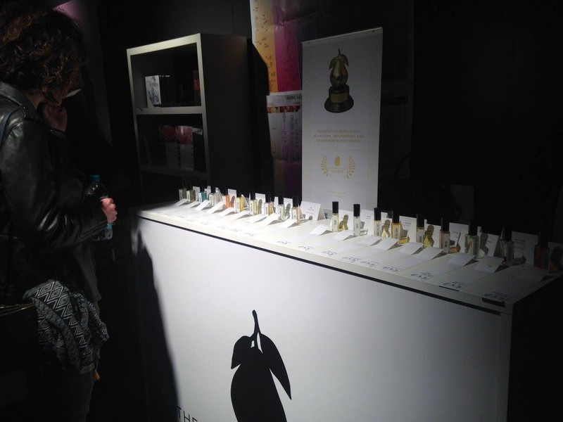 The Art and Olfaction Awards booth  at Esxence The Scent Of Excellence