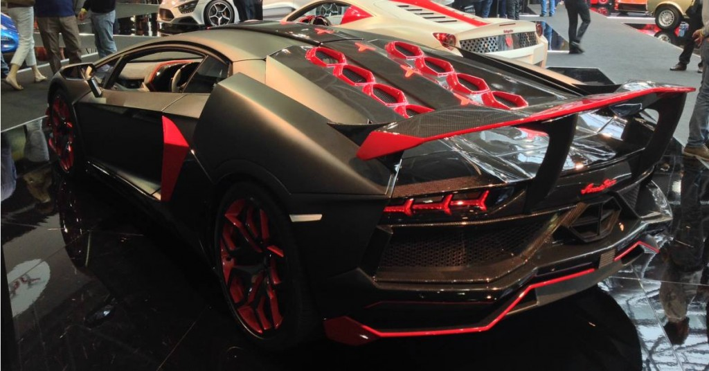 The Avanti Rosso - one of the two supercars exhibited by Nimrod Luxury Cars. 2015