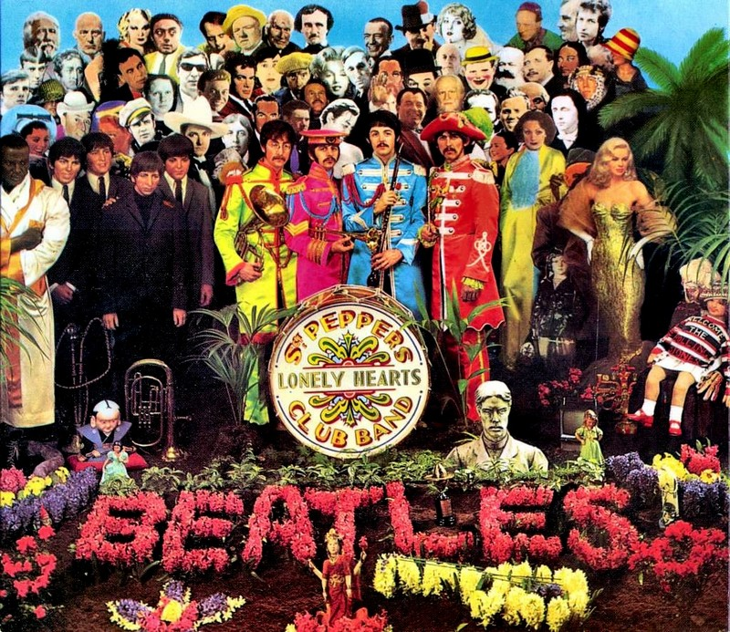 The Beatles iconic Sgt. Pepper's Lonely Hearts Club album