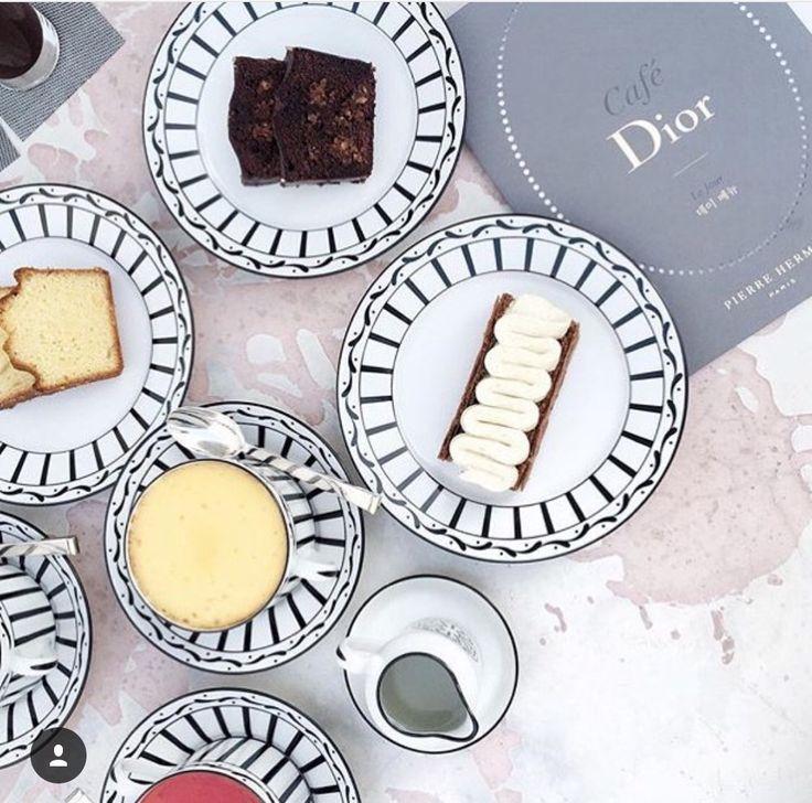 The Café Dior by Pierre Hermé Seoul-haute patisserie menu