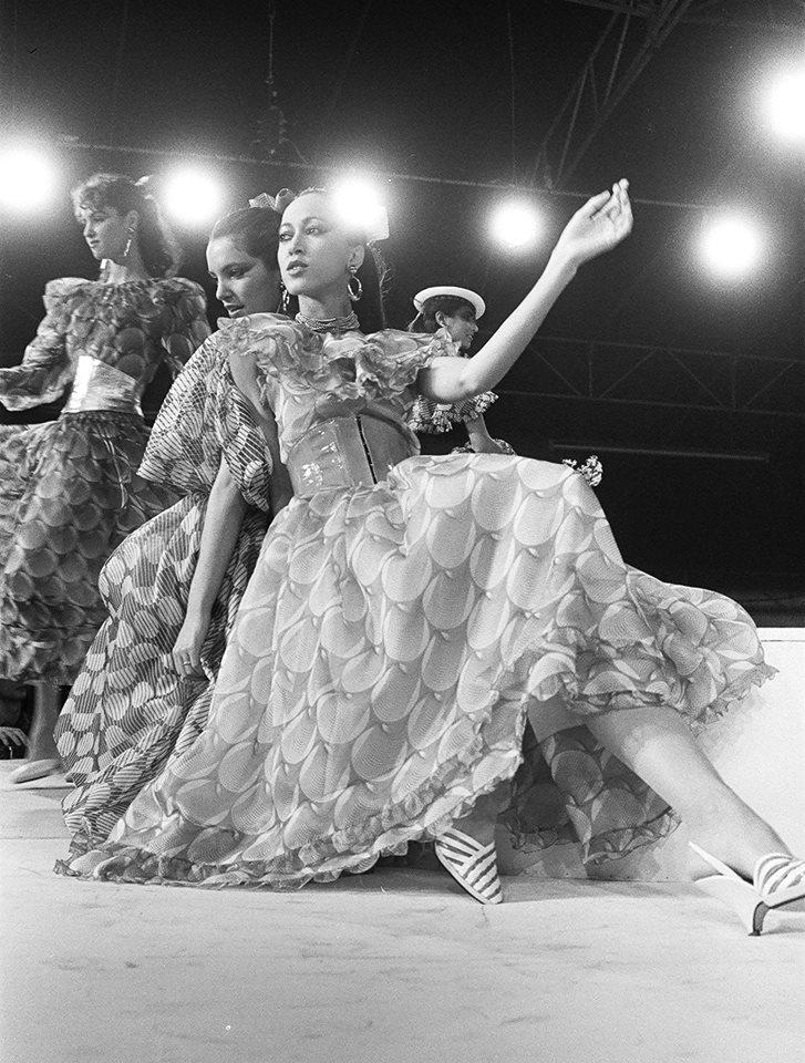 The Chloé Spring-Summer 1982 collection