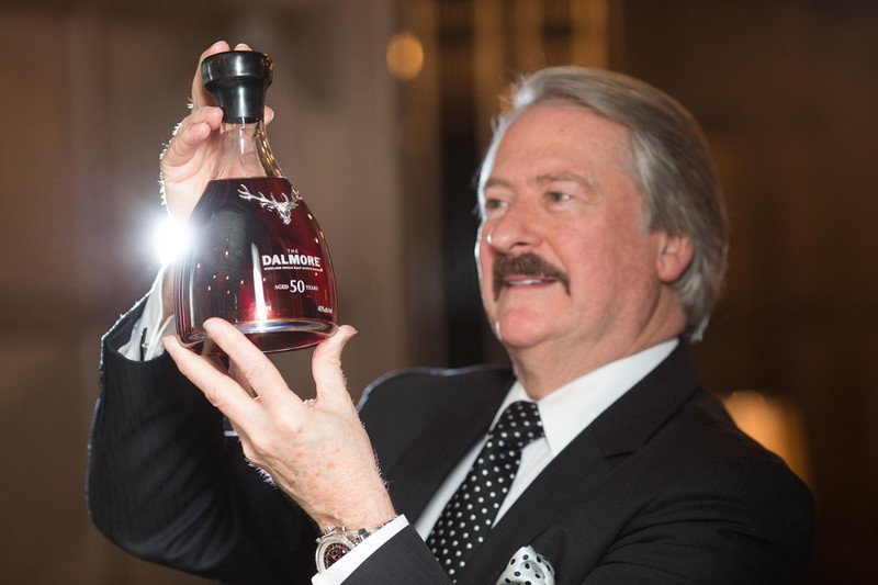 The Dalmore has released an exceptionally rare, Domaine Henri Giraud champagne-finished, 50 year old single malt