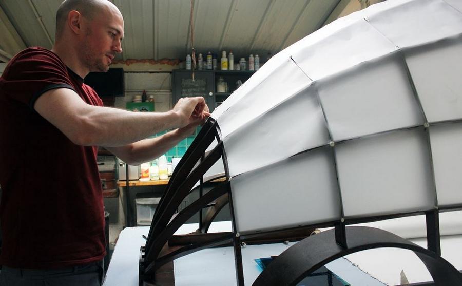 The Design Museum Tank - Dominic Wilcox Tank 2015-