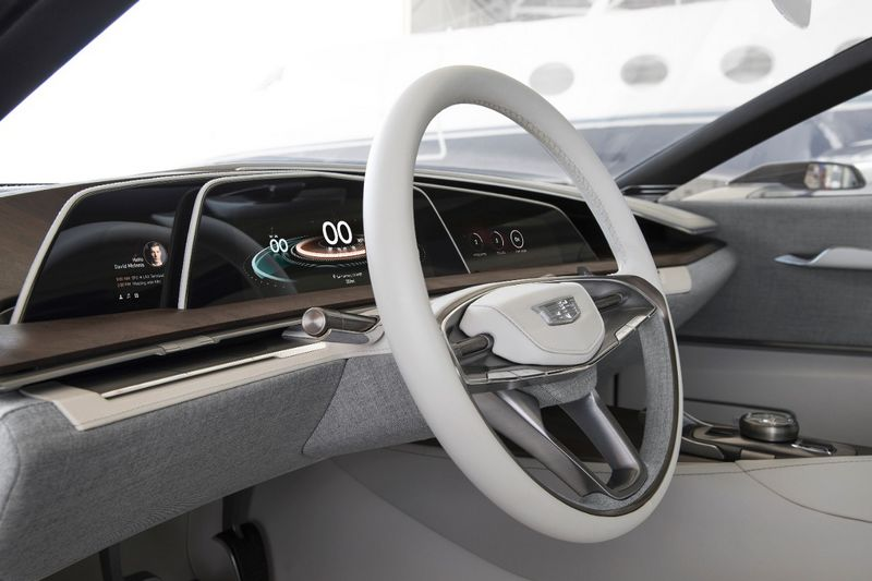 The Escala Concept is the next evolution of Cadillac-2016 model-cockpit details