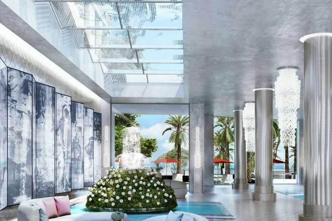 Karl Lagerfeld's designs for The Estates at Acqualina