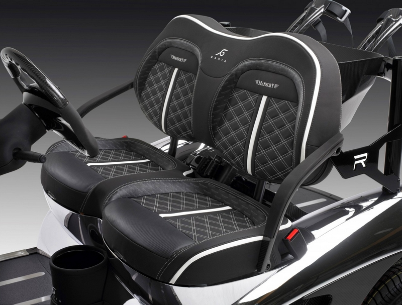 The Garia Mansory Prism - The fastest and lightest golf cart--