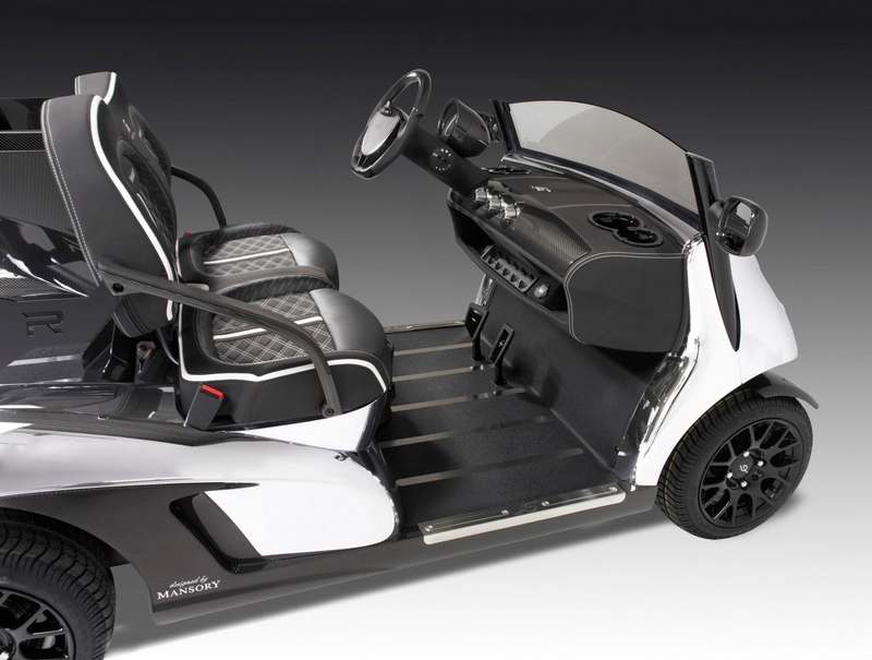 The Garia Mansory Prism - The fastest and lightest golf cart--2015