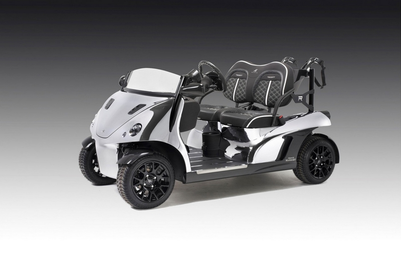The Garia Mansory Prism - The fastest and lightest golf cart-Geneva Motor Show 2015