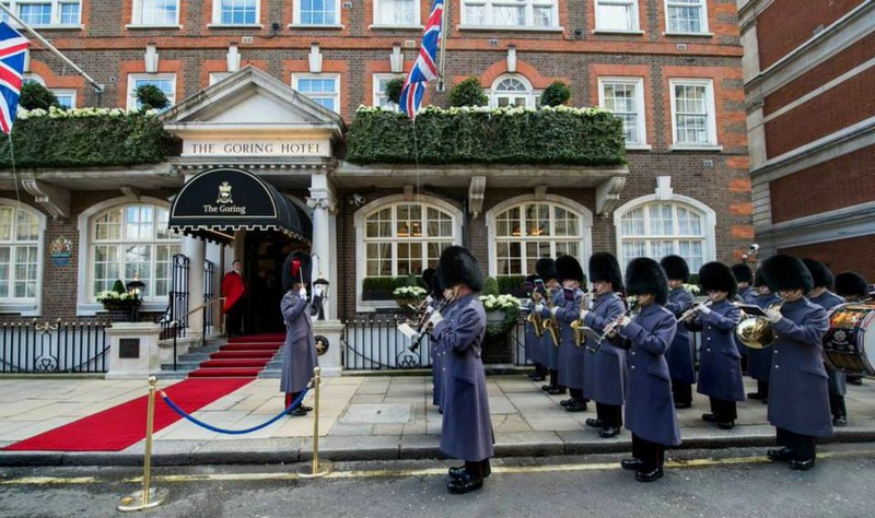 The Goring's 105th Birthday Celebrations-March, 2015