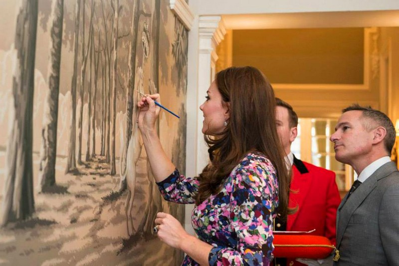 The Goring's 105th Birthday Celebrations-The famous luxury hotel welcomed Kate
