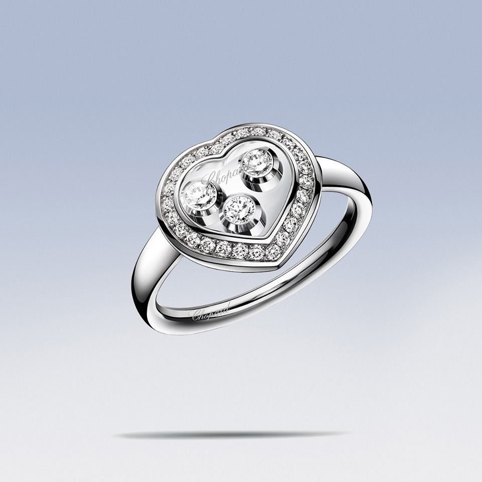 The Happy Curve ring