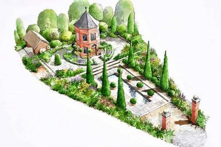 The British Eccentrics Garden by horticultural showman Diarmuid Gavin – An alternative take on a quintessentially English garden