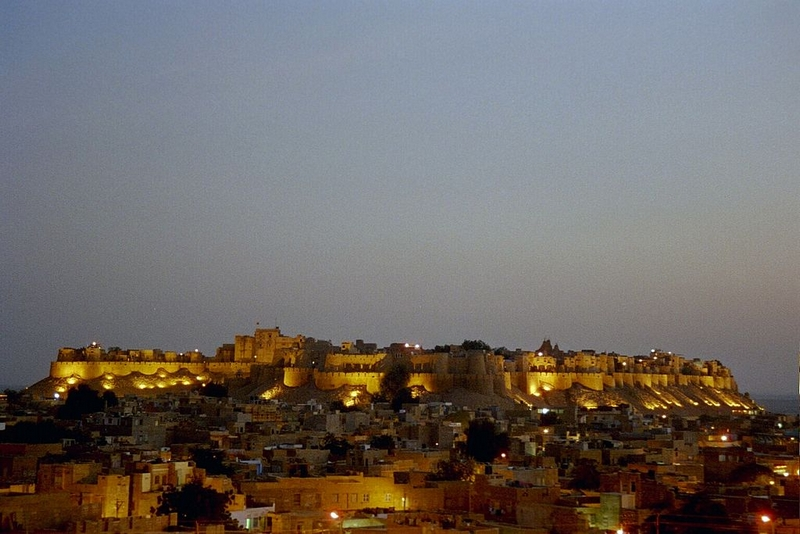 The Jaisalmer Fort, India